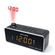 Rádio Despertador MUSE M-188P (Preto – Alarme Duplo – Função Snooze – Pilhas)