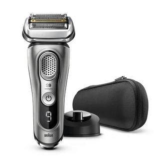 Máquina de Barbear Braun Series 9 9345S – Prateado Dourado