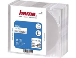Arquivo CD HAMA Pack 10 unidades Slim