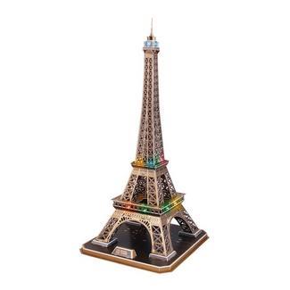 Puzzle 3D: Torre Eiffel