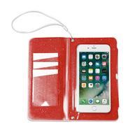 Capa Celly SplashWallet para Smartphones até 6 2 – Laranja