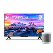 Xiaomi Mi TV P1 43″ LED UltraHD 4K + Mi Smart Speaker Coluna Inteligente Branco