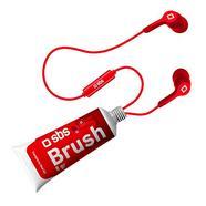 Auriculares com Fio SBS Brush (In Ear – Microfone – Vermelho)