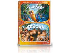 DVD Pack DVD Os Croods + Turbo – X2