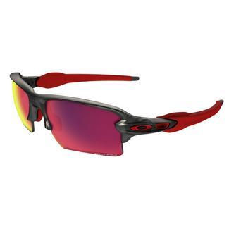 Óculos multidesporto Flack 2.0 XL Oakley Cinzento / Vermelho