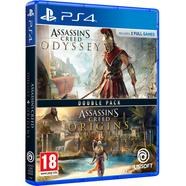 Assassin's Creed Odyssey + Assassin's Creed Origins Double Pack – PS4