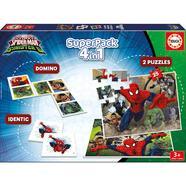 Superpack 4 em 1 Ultimate Spiderman vs Sinister 6