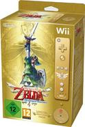 Jogo Nintendo Wii Zelda Skyward Sword + Remote + CD