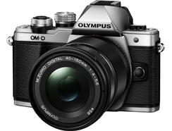 Olympus OM-D E-M10 Mark II + M.Zuiko Digital ED 14-150mm f/4.0-5.6 II (Prateado)