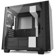 Caixa Micro-ATX NZXT H400 com Janela Preta/Branca