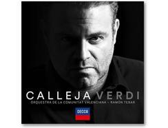 CD Joseph Calleja/Orquestra de la Comunitat Valenciana/Ramón Tebar – Joseph Calleja: Verdi