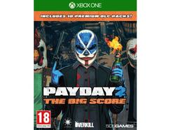Jogo Xbox One Payday 2 – The Big Score