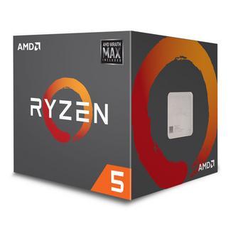 Processador AMD Ryzen 5 2600X MAX Hexa-Core 3.6GHz c/ Turbo 4.25GHz 19MB SktAM4