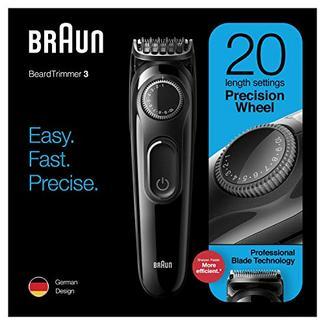 Aparador de Barba BRAUN BT3222 Gillette (Autonomia 50 min – Bateria)