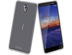 Capa MUVIT Crystal Nokia 3.1 Transparente