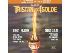 CD+Blu-Ray Audio – Birgit Nilsson/Fritz Uhl/Wiener Philharmoniker/Sir Georg Solti:Wagner: Tristan Und Isolde
