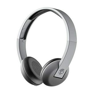 Auscultadores Bluetooth SKULLCANDY UpRoar (On Ear – Microfone – Cinzento)