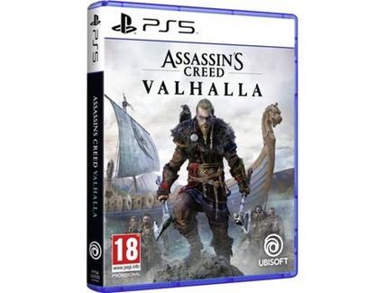 Jogo PS5 Assassin's Creed Valhalla (M18)