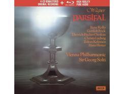 CD+Blu-Ray René Kollo/Wiener Staatsopernchor/Wiener Philharmoniker/Sir Georg Solti – Wagner: Parsifal