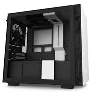 Caixa PC NZXT H210 (Mini ITX Tower – Branco Fosco, Preto)