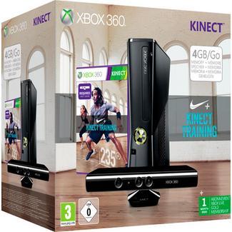 Consola Microsoft Xbox360 4GB Kinect + 1 Jogo (S4G-00182)