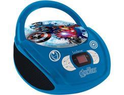 Leitor Rádio/CD Avengers RCD108AV Azul