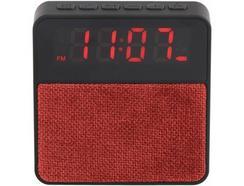 Rádio Despertador CLIPSONIC TES197R (Vermelho – Digital – Bateria)