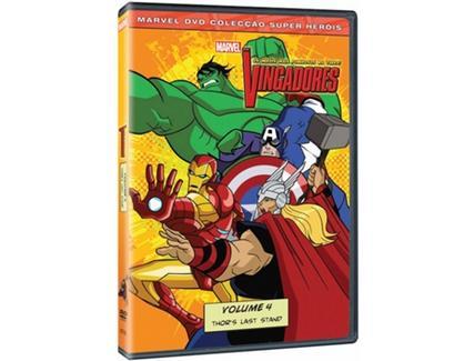 DVD Os Vingadores Vol.4 – Os Heróis mais Poderosos da Terra