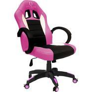 Cadeira Ultimate Gaming Taurus – Rosa Preto e Branco