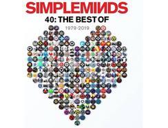CD3 Simple Minds – Forty – The Best Of Simp (3 CDs – Edição)