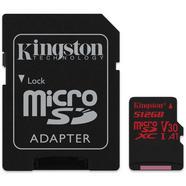 Cartão de Memória microSDXC KINGSTON Canvas React (512 GB – 100 MB/s – SD)