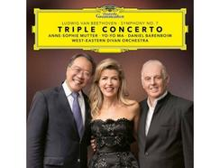 CD Anne-Sophie Mutter, Yo-Yo Ma, Daniel Barenboim, West-Eastern Divan Orchestra – Beethoven-Triple Concerto & Symphony Nº 7