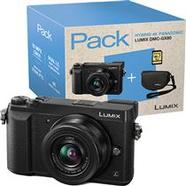 Panasonic Lumix DMC-GX80 + G Vario 12-32mm f/3.5-5.6 ASPH. + Cartão SD + Bolsa