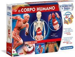 Jogo Didático CLEMENTONI O Corpo Humano