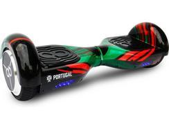 """Hoverboard FPF 6"""" Mundial 2018 Oficial Preto"""