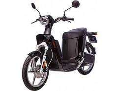 Scooter elétrica ASKOLL eS2 Preta