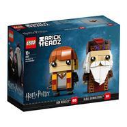 Lego Brick Headz: Ron Weasley & Albus Dumbledore Harry Potter