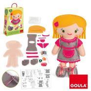 Goula: Boneca para Coser Bibi