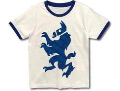 T-Shirt FORTNITE Blue Lama para 10 Anos