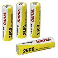 Pilhas HAMA 4XNI-MH 2500MAH 1,2V