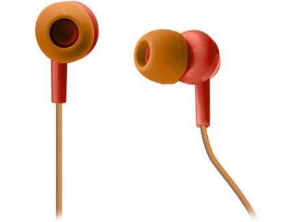 Auriculares Com fio SBS Pop Collection (In Ear – Microfone – Vermelho)