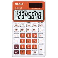 Calculadora Basica CASIO SL 300NC Laranja