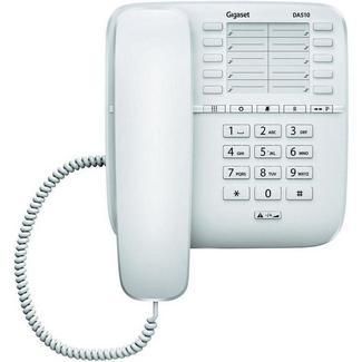 Telefone Com Fio GIGASET DA510 Branco