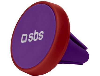 Suporte Auto SBS Pop Line Magnético Vermelho