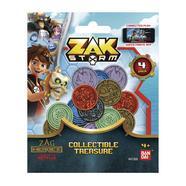 Zak Storm Pack de 4 Moedas