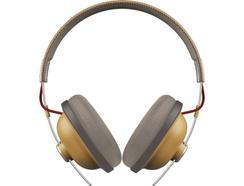 Auscultadores Bluetooth PANASONIC Retro RP-HTX80BE-C em Bege