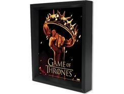 Poster 3D SHERWOOD Game Of Thrones – Crown