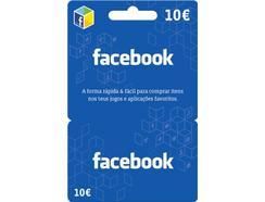 Cartão Facebook – 10 euros