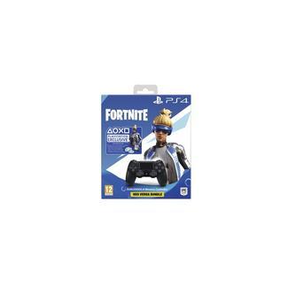 Comando PS4 Dualshock Black V2 Fortnite Voucher