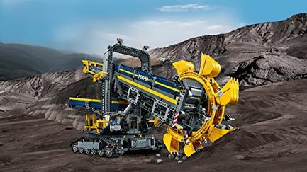 LEGO Technic 42055 Escavadora com Roda de Baldes